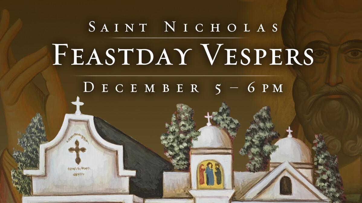 Feastday Vespers